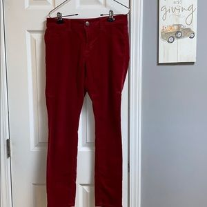 Cabi Skinny Cords Pants Style #160